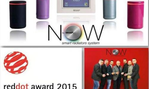 NOW vince il RED DOT DESIGN AWARD - BEST OF THE BEST 2015!!