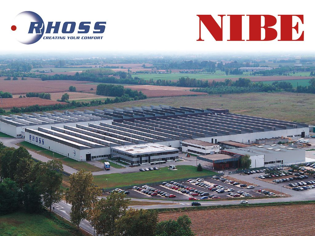 NIBE and IRSAP Group completed the agreement