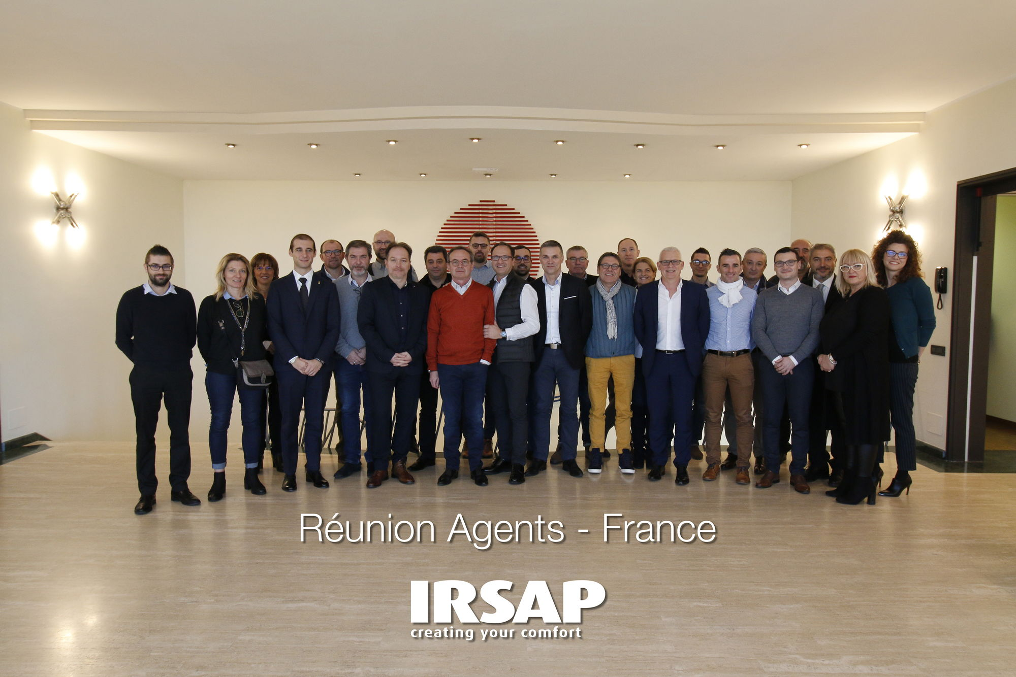 France sales force meeting