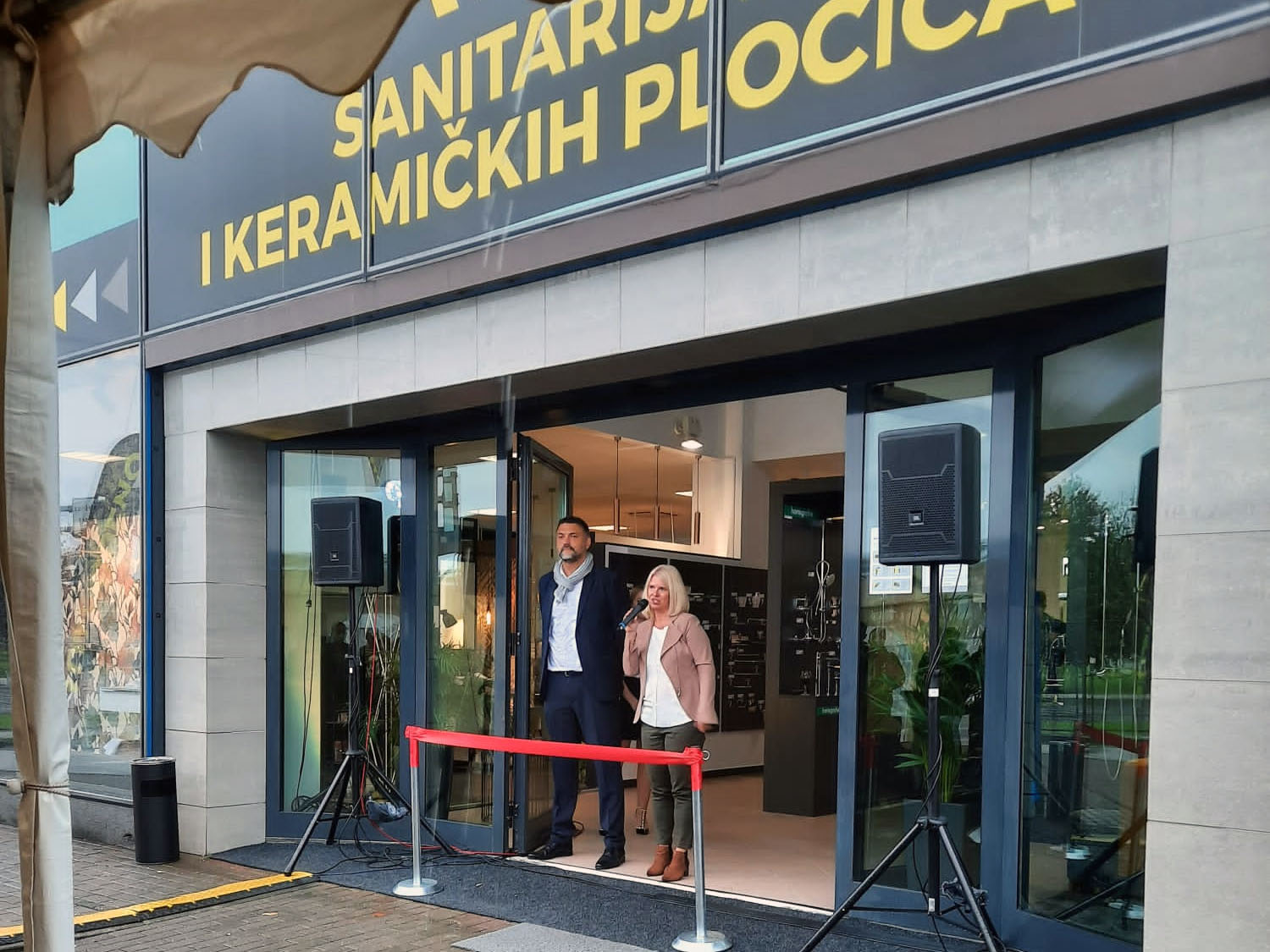 Petrokov Showroom inauguration